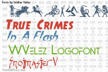 Walter Velez Fonts