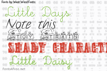 West Wind Fonts Fonts