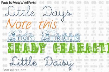 West Wind Fonts Fonts