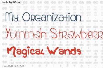 Wizzah Fonts