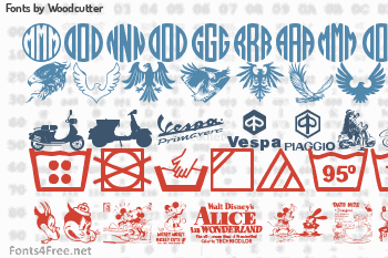Woodcutter Fonts
