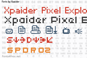 Xpaider Fonts