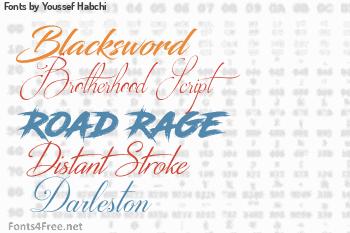 Youssef Habchi Fonts