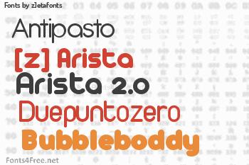 z]etafonts Fonts