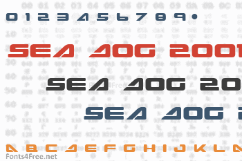 Sea Dog 2001 Font