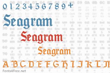 Seagram Font