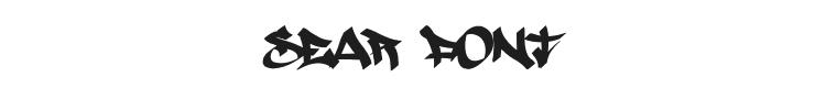 Sear Font Preview