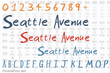 Seattle Avenue Font