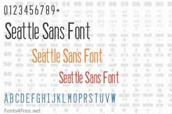 Seattle Sans Font