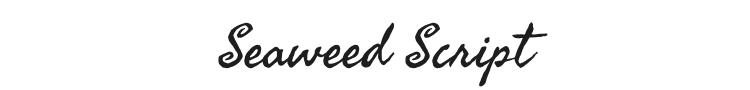 Seaweed Script Font