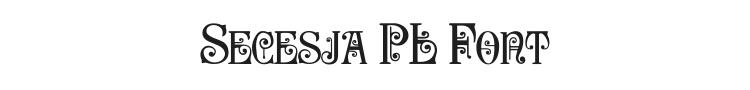 Secesja PL Font