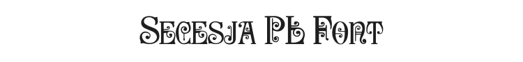 Secesja PL Font Preview