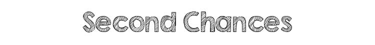 Second Chances Font Preview