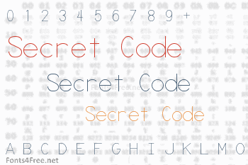 Secret Code Font