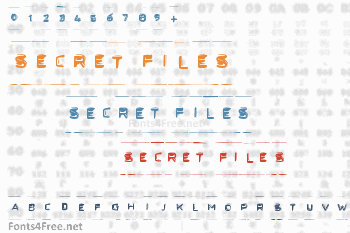 Secret Files Font