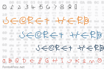 Secret Herb Font