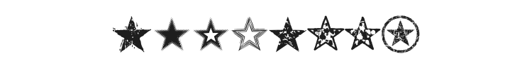 Seeing Stars Font Preview