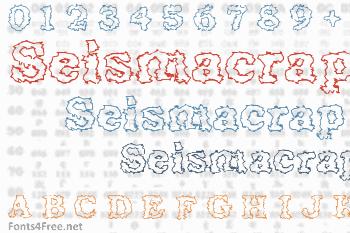 Seismacrap Font