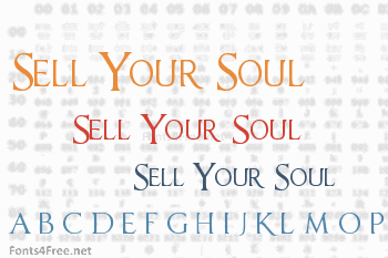 Sell Your Soul Font