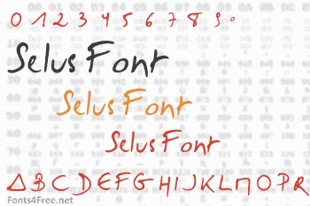 Selus Font