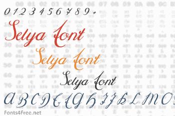 Selya Font