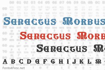 Senectus Morbus Font