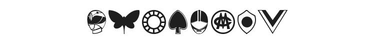 Sentai 30 Dingbats Font Preview