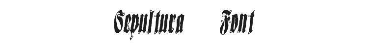 Sepultura Font
