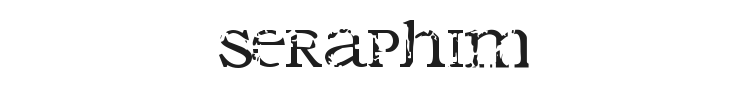 Seraphim Font Preview