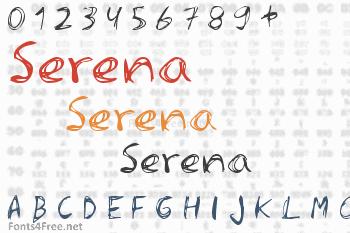 Serena Font