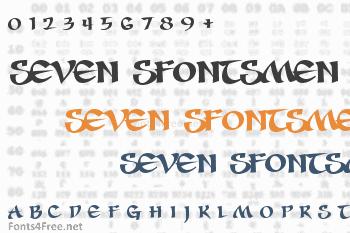 Seven Sfontsmen Font