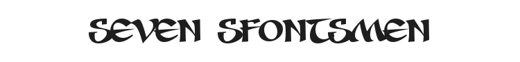 Seven Sfontsmen Font Preview
