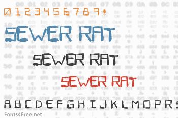 Sewer Rat Font