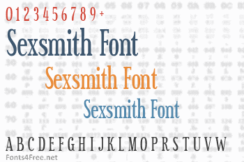 Sexsmith Font