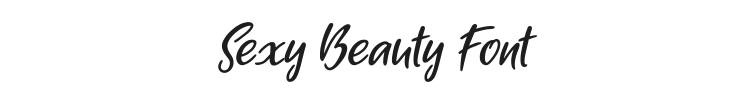 Sexy Beauty Font Preview
