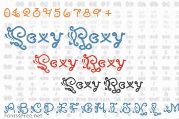 Sexy Rexy Font