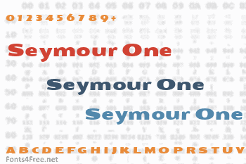 Seymour One Font