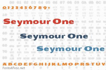 Seymour One Font