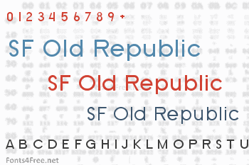 SF Old Republic Font