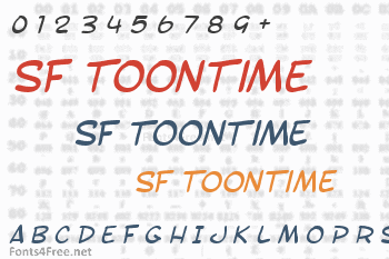 SF Toontime Font