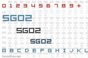 SG02 Font