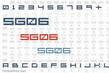 SG06 Font