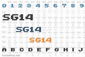 SG14 Font