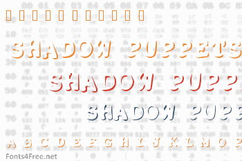 Shadow Puppets Font