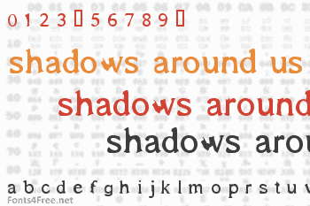 Shadows Around Us Font