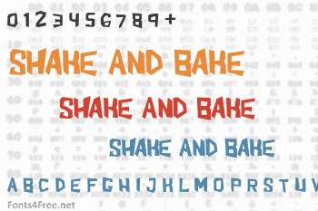 Shake And Bake Font