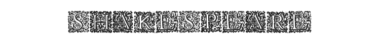 Shakespeare To Be Or Not To Be Font