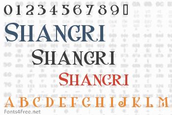 Shangri Font