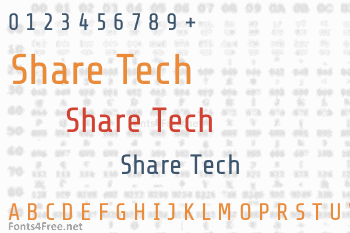 Share Tech Font