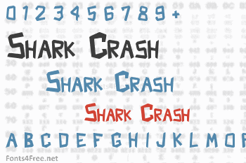 Shark Crash Font